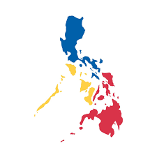 philippines map sun and flag by aireal apparel