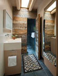 New Bedroom Wall Reclaimed Mosaic Wood Tiles Modern by Salvaged Style 10 Ways To Transform Your Bathroom With Reclaimed Wood