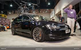 volkswagen golf custom sema 2014 h u0026r volkswagen golf 7 sportwagen vwvortex