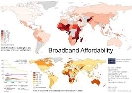 Map Of Sub Saharan Africa Geographies Of Information Inequality In Sub Saharan Africa U2013 The