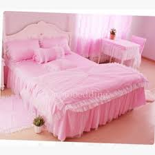 Comforter Sets On Sale Pink Romantic Organza Comforter Sets With Lace On Sale Ogbd081133