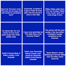 can you answer these literary questions from jeopardy