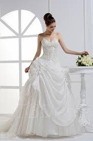 a line sweetheart floor length lace wedding dress tbdress com