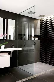 Red And Black Bathroom Decorating Ideas Black And White Tiled Bathrooms 31 Retro Black White Bathroom