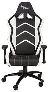 openwheeler leather white racing style gaming chair premium