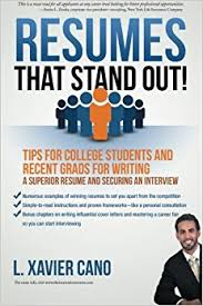 Resume For College Interview Resumes That Stand Out Tips For College Students And Recent