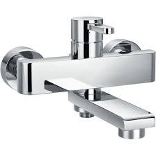 flova essence wall mounted manual single lever bath shower mixer flova essence wall mounted manual single lever bath shower mixer with diverter spout esbsmwm