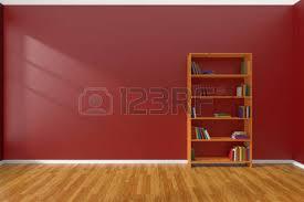 chambre du vide intérieur minimaliste du vide salle blanche avec parquet et la
