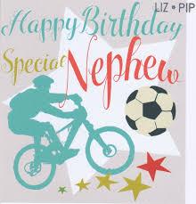birthday cards for nephew special nephew birthday card karenza paperie
