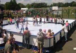 Ice Skating Rink Backyard by Inflatable Ice Skating Rink Equipment Synthetic Plastic Ice Rink