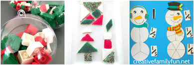 20 fun christmas math activities creative family fun