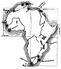 africa map drawing drawing maps africa ca 1900 maps diy cartography