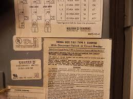 square d company electrical controls class 8538 sba23 series c