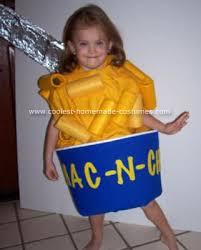 Cheese Halloween Costume Coolest Homemade Mac Cheeza Costume Macs Cheese Costumes