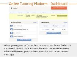 online class platform tutorsclass online tutoring platform how it works
