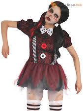 creepy doll costume bristol novelty af036 creepy doll fancy dress costume uk