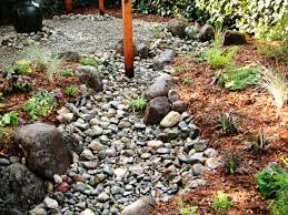 Backyard Gravel Ideas - how to install a dry creek bed how tos diy