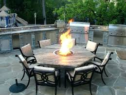 wonderful outdoor furniture with fire pit table attractive patio set