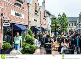 roermond designer outlet roermond netherlands 07 05 2017 walking around at the mc