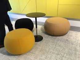 Arper Pouf by Arper Pix Poufs And Pix Hieght Adjustable Table Events Neocon