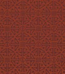 home decor upholstery fabric crypton aztec cinnabar decor