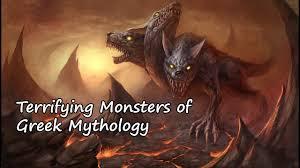 most terrifying monsters of greek mythology youtube