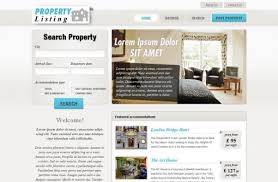 real estate listing template free real estate website templates phpjabbers