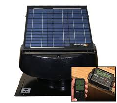 us sunlight 20 watt solar attic fan with solar controller