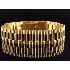 bracelet gold style images Jewelry unlimited men 39 s presidential style bracelet in solid 18k jpeg