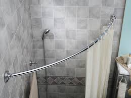 shower curtain rods perfect looks clean and modern aka