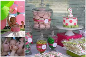 1st birthday party polka dot sweet shoppe 1st birthday party pizzazzerie