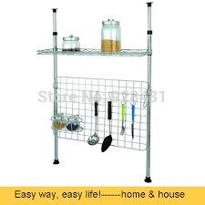etagere telescopique cuisine rayonnages métalliques télescopique cuisine de stockage en rack de