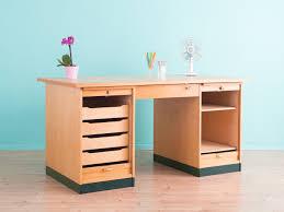 Schreibtisch Vintage G Stig 50er Schreibtisch 97 Individuelle Produkte Aus Der Kategorie