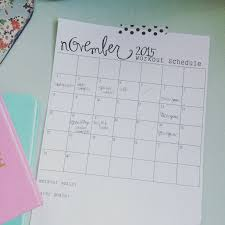 free workout schedule free workout schedule printable the simple life