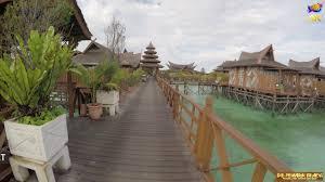 mabul water bungalow resort pulau mabul sabah go pro 4k youtube