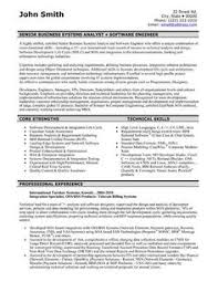 Software Developer Resume Examples by Software Engineer Resume Includes Many Things About Your Skills