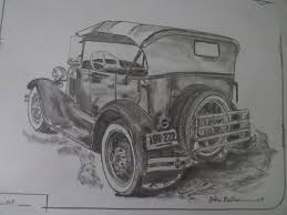 vintage cars drawings art u0026 inspiration rod drawings the h a m b