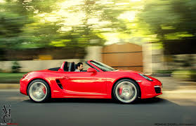 porsche boxster red porsche boxster s 981 in india team bhp