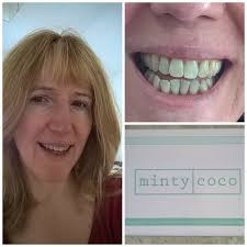 mintycoco oil pulling for healthier whiter teeth mother