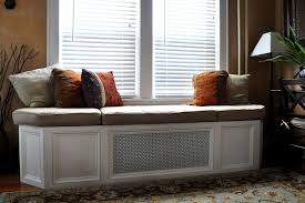 How To Make A Seat Cushion For A Bench Bay Window Bench Seat Cushion 134 Trendy Furniture With How To