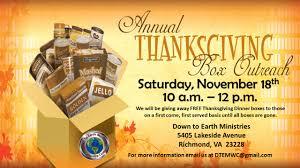 thanksgiving food basket giveway