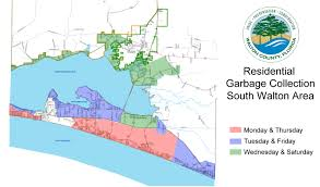 Map Of Lake County Florida by Residential Waste Collection Walton County Fl Home Page