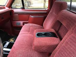 Classic Ford Truck Bench Seats - 87 91 bench seat cup holder ford truck enthusiasts forums