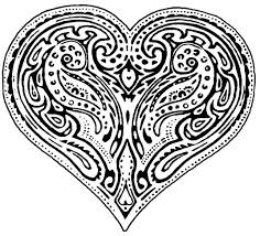 coloring pages of a heart 121 best coloring book images on pinterest coloring books