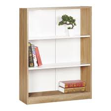Mainstays 3 Shelf Bookcase White by Shelf Design Trendy Target Home 3 Shelf Bookcase Austin Oak And