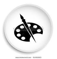 Painting Icon Swap Icon Internet Button On White Stock Illustration 515864182