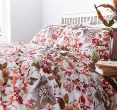 linea traditional floral duvet cover set house of fraser