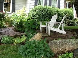 front yard seating garden ideas
