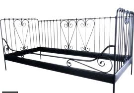 Single Metal Day Bed Frame Attractive Metal Daybed Frame Ikea Single Bed On Ataa Dammam