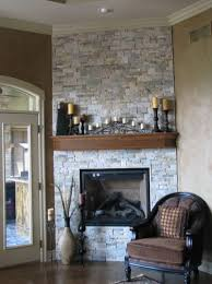 chalk paint stone fireplace home design ideas